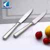 Cathylin 5pcs stainless steel dessert fork and knife cutlery set, restaurant flatware
