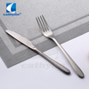 Cathylin Unique artistic flatware 18/10 stainless steel silver cutlery set with hollow handle for hotel restaurant wedding